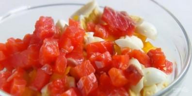 Два праздничных салата за 10 минут - фото шаг 5