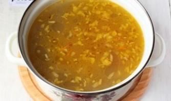 Грибной суп из маслят - фото шаг 8
