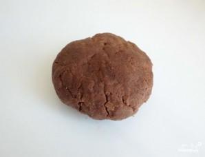 Шоколадное печенье с какао - фото шаг 3