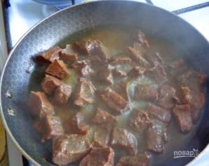 Сердце говяжье тушеное - фото шаг 1