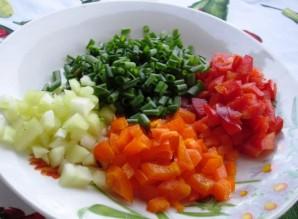 Вегетарианское заливное - фото шаг 4