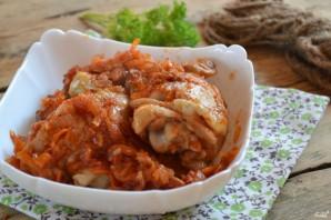 Курица под томатным соусом - фото шаг 5