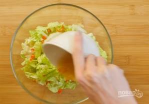 Салат из курицы без майонеза - фото шаг 2