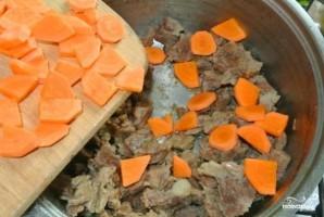 Мясо с морковью - фото шаг 3