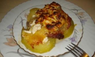 Свинина в духовке с кабачками - фото шаг 4