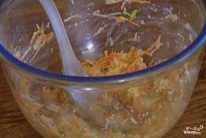 Оладьи из овощей - фото шаг 4