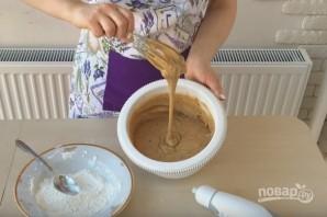 Очень простой кофейный торт - фото шаг 4