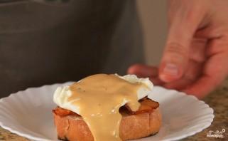"""Яйца """"Бенедикт"""" под соусом """"Голландез"""" - фото шаг 3"""