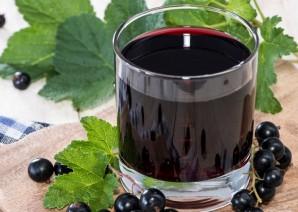 Вино из черной смородины без дрожжей - фото шаг 4