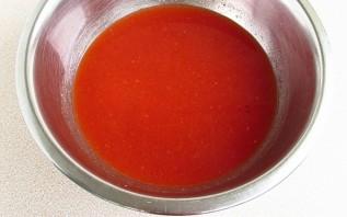 Тушеные помидоры в мультиварке - фото шаг 3