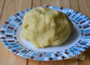 Малиновый пирог с творогом - фото шаг 3