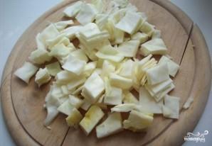 Пироги из слоеного теста с капустой - фото шаг 2