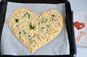 Пицца на 14 февраля - фото шаг 7