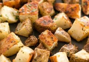 Запеченная картошечка с пармезаном - фото шаг 5