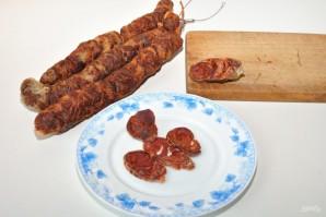 Домашняя сыровяленая колбаса - фото шаг 9