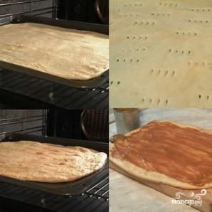 Пирожное с варёной сгущёнкой - фото шаг 7