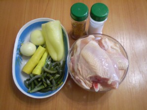Курица с овощами в пароварке - фото шаг 1