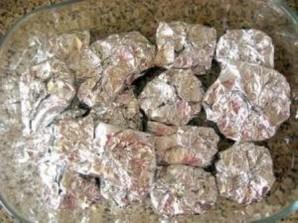 Мясо порционное, запеченное в духовке - фото шаг 6
