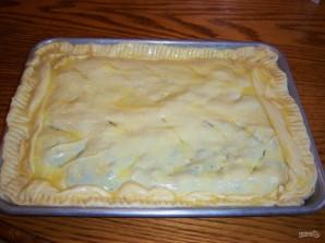 Слоеный пирог с брокколи и сыром - фото шаг 5