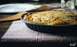 Сырная запеканка в духовке - фото шаг 5