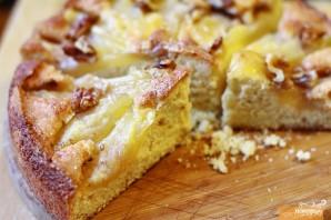Пирог с грушами в мультиварке - фото шаг 9
