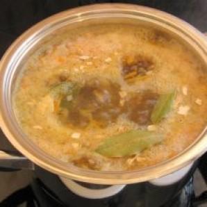 Суп с консервированной рыбой - фото шаг 9