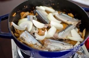 Рыбный суп из скумбрии - фото шаг 4