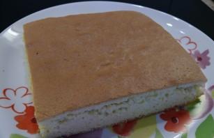Торт с желе и бисквитом - фото шаг 1