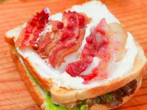 """""""Клаб сэндвич"""" - фото шаг 3"""