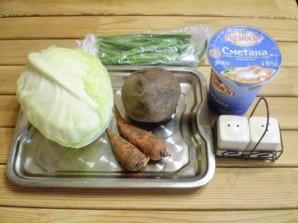 Овощное рагу к макаронам - фото шаг 1