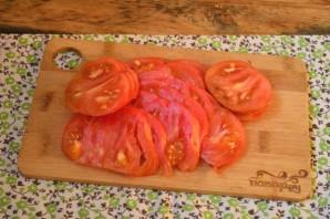 Омлет с баклажанами и помидорами - фото шаг 3