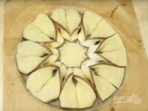 Красивый пирог из дрожжевого теста - фото шаг 13
