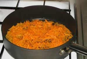 Тушеные овощи с сосиской - фото шаг 1