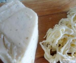 Печеночные оладьи с сыром - фото шаг 3