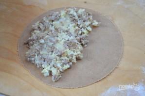 Гезлеме с мясом - фото шаг 6