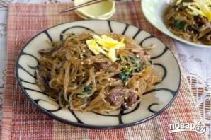 Корейская лапша с мясом - фото шаг 11