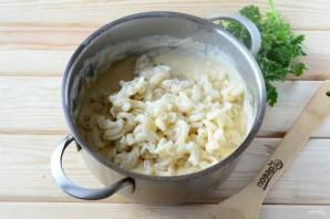 Макароны с сыром в рожке - фото шаг 10