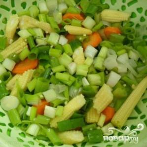 Тофу с овощами - фото шаг 1