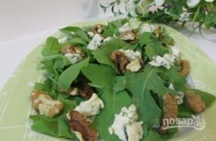 Теплый салат с грушей - фото шаг 5