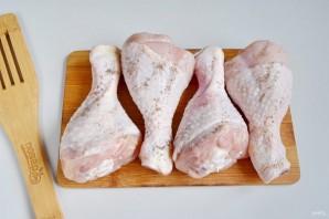 Куриные ножки, запеченные с рисом и овощами - фото шаг 4