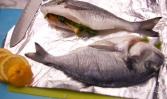 Рыба на решетке - фото шаг 2