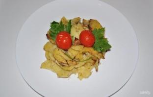 Картофель, запеченный в сметане - фото шаг 7