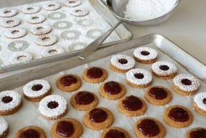Печенье с джемом - фото шаг 15