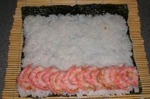 Суши с креветками - фото шаг 3