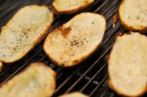 Картошка с салом на мангале - фото шаг 3