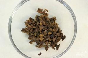 Куриные котлеты, фаршированные грибами - фото шаг 2