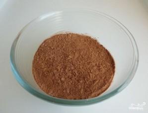 Шоколадное печенье с какао - фото шаг 2
