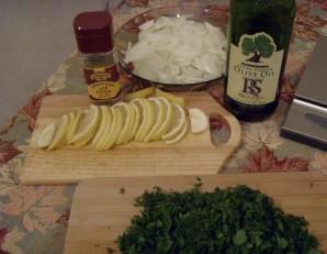 Стерлядь в фольге в духовке - фото шаг 3