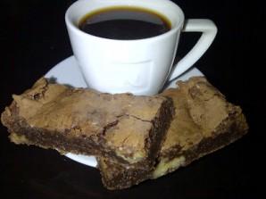 Брауни с черным шоколадом - фото шаг 10