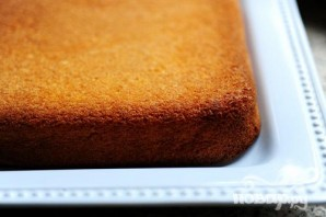 Пирог со сгущенным молоком - фото шаг 6